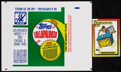 "2013 Topps Lollapalooza ""CONGRATULATIONS!"" Monkey Card and Wrapper Slick"