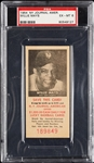 1954 NY Journal American Willie Mays PSA 6