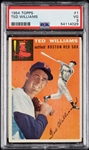 1954 Topps Ted Williams No. 1 PSA 3