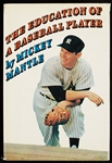 "Mickey Mantle Signed ""The Education of a Baseball Player"" Book (BAS)"