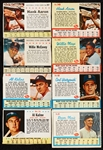Huge Group 1961-63 Post Cereal Cards With HOFers, Maris Life Insert (400)