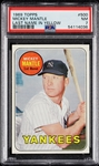 1969 Topps Mickey Mantle Last Name in Yellow No. 500 PSA 7