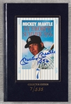 "Mickey Mantle Signed ""My Favorite Summer 1956"" Book (7/535) (BAS)"