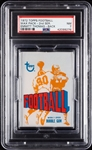 1972 Topps Football Wax Pack - Emmitt Thomas Back (Graded PSA 7)