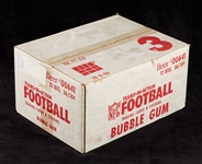 1982 Fleer Football Unopened Wax Case (12/36)