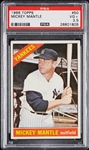 1966 Topps Mickey Mantle No. 50 PSA 3.5