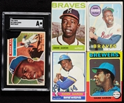 1956-76 Topps Henry Aaron Group, Inc. 23 Regular-Issue Cards (74)