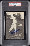 Hank Aaron Signed 1954-56 Spic and Span RC PSA 1 (AUTO 10)