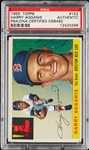 Harry Agganis Signed 1955 Topps No. 152 (PSA/DNA)