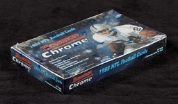 1998 Bowman Chrome Football Factory Sealed Hobby Box (24)