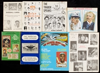 Massive 1970s and 1980s Hobby Pubs Collection, Catalogs, All-Star Ballots (230)
