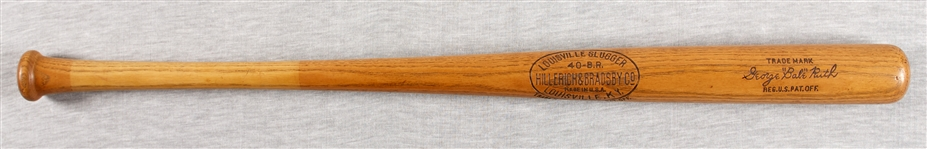 Babe Ruth Late 1920s/Early 1930s H&B Store Model Bat