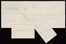 1960-1969 Signed Index Card Collection (1070)